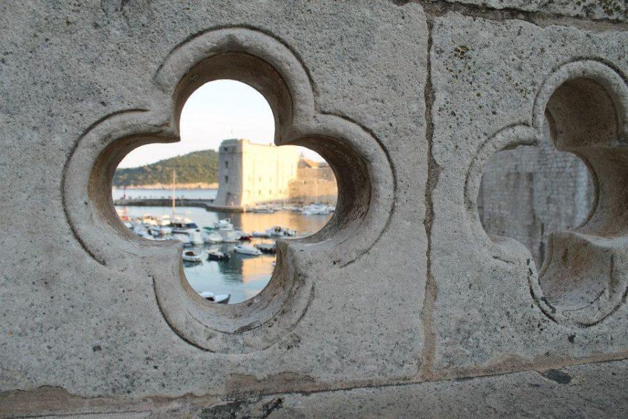 Vista de la marina de Dubrovnik