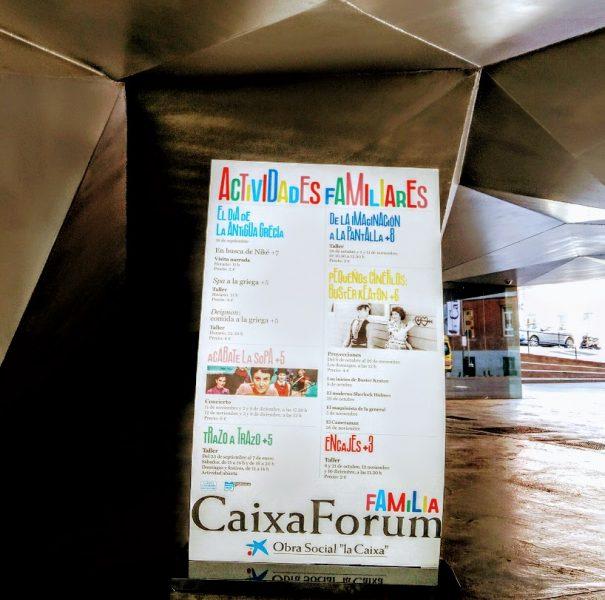 Talleres infantiles en Caixa Forum Madrid