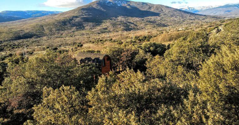 Monte holiday: dormir en los árboles en la Sierra de Madrid