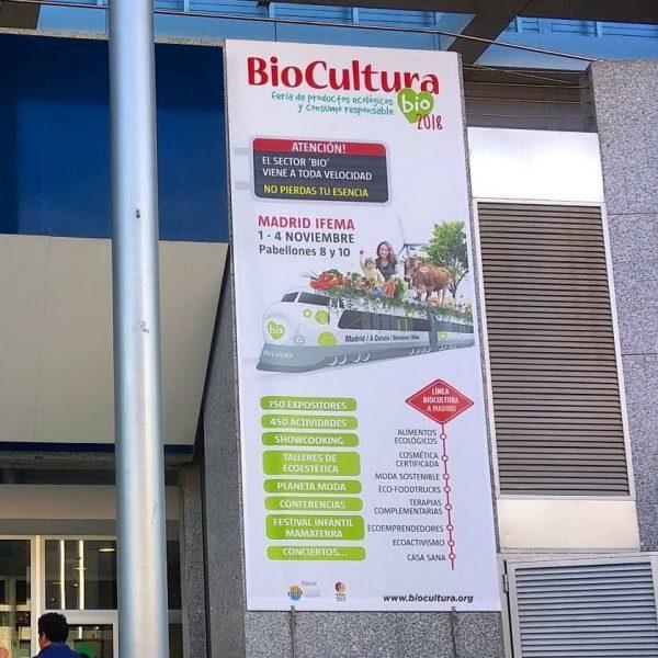 Biocultura 2018: fuerza a lo verde