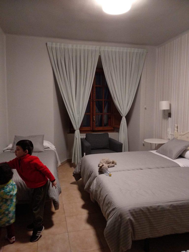 habitación hospedería