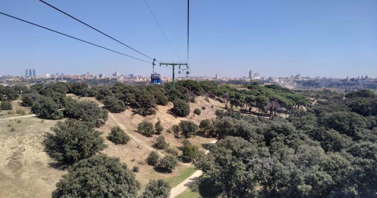 Visita al Teleférico de Madrid en su 50 cumpleaños