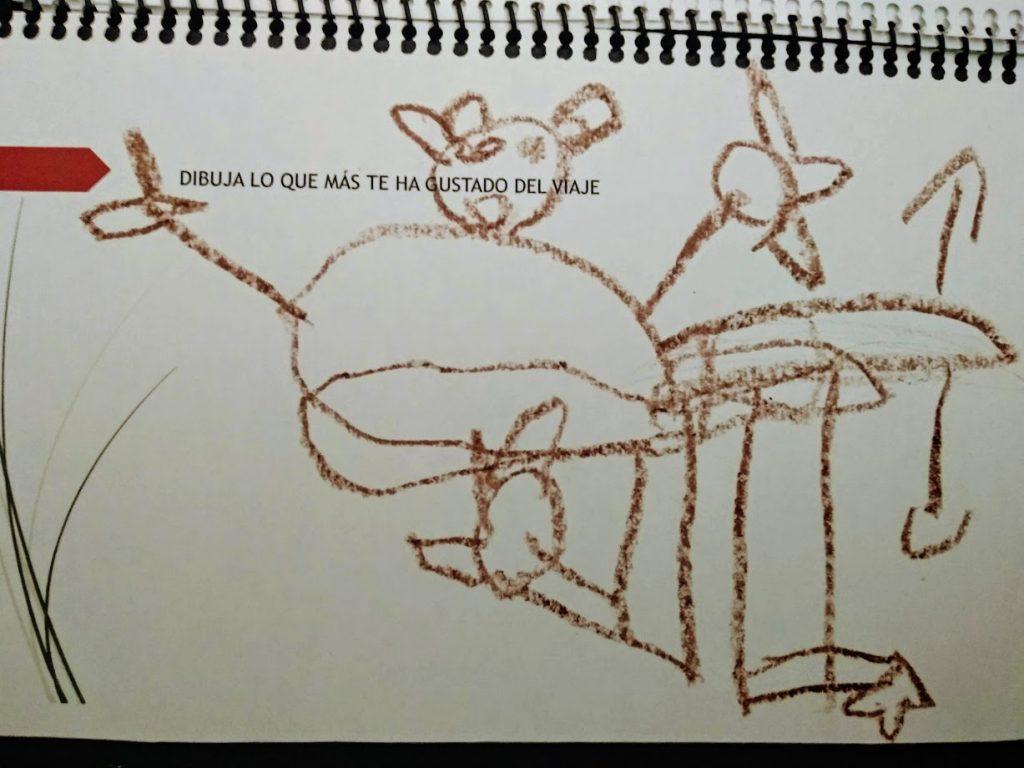 dibujo infantil en Pasaporte lúdico de Viena