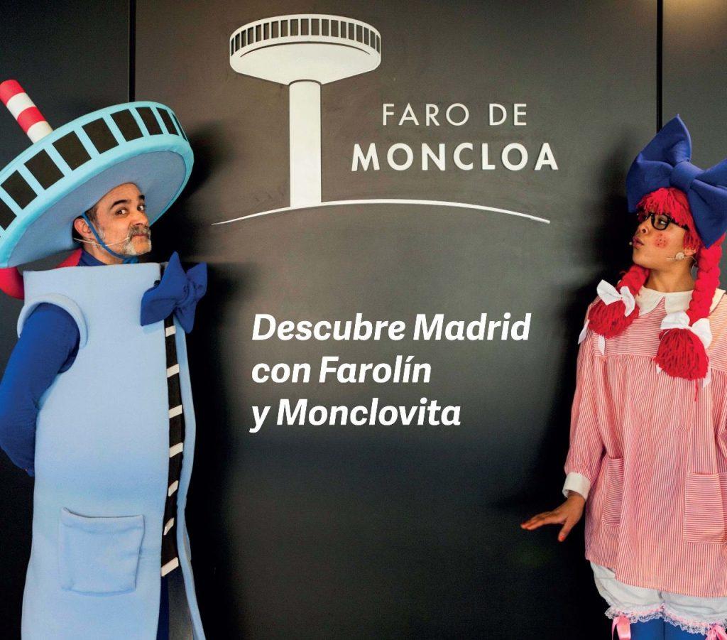Farolín y Monclovita. Personajes.