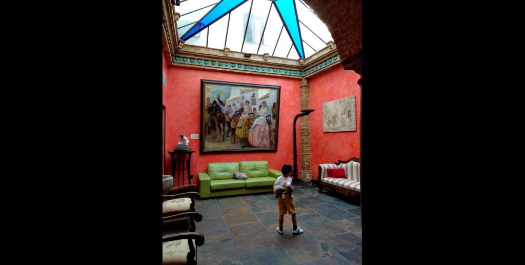 Interior Palacio Sirviente de MIeres