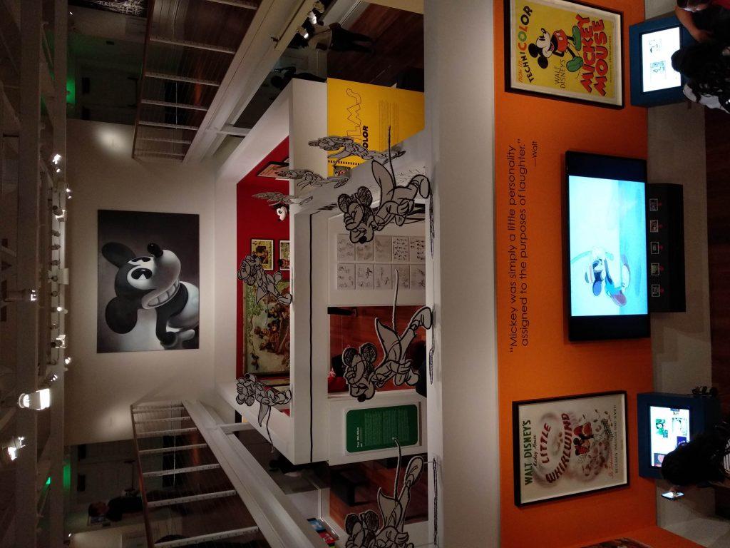 vista general de la exhibición