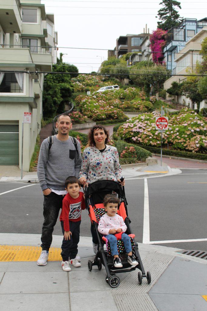 una semana en san francisco con niños lombard street