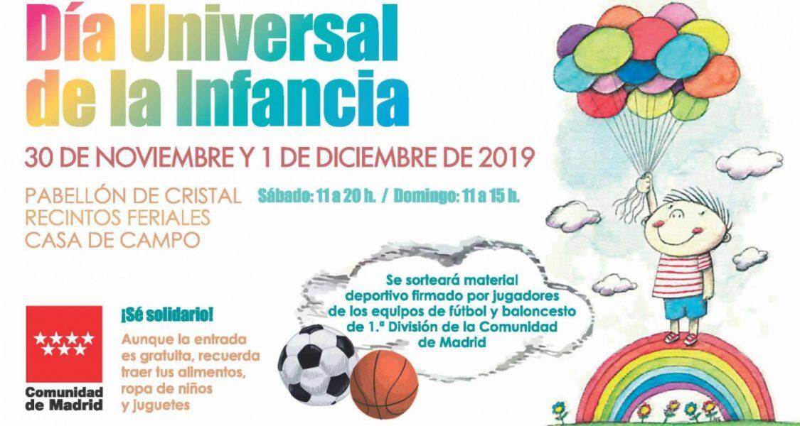 Día Universal de la Infancia Madrid