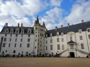 Patio del Castillo de los duques de bretaña