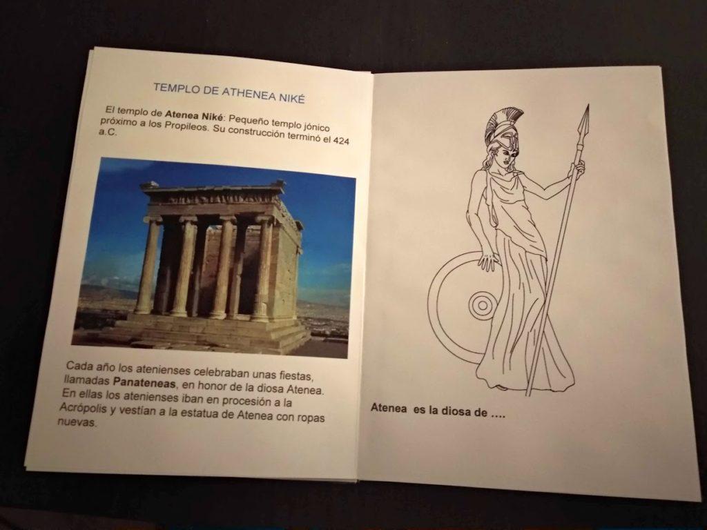 Templo de Atenea Niké, explicacion