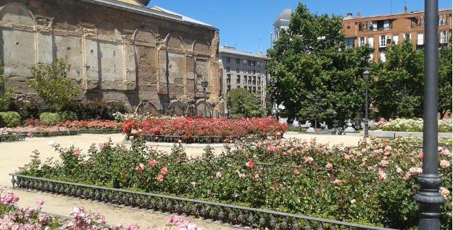 jardines secretos de Madrid