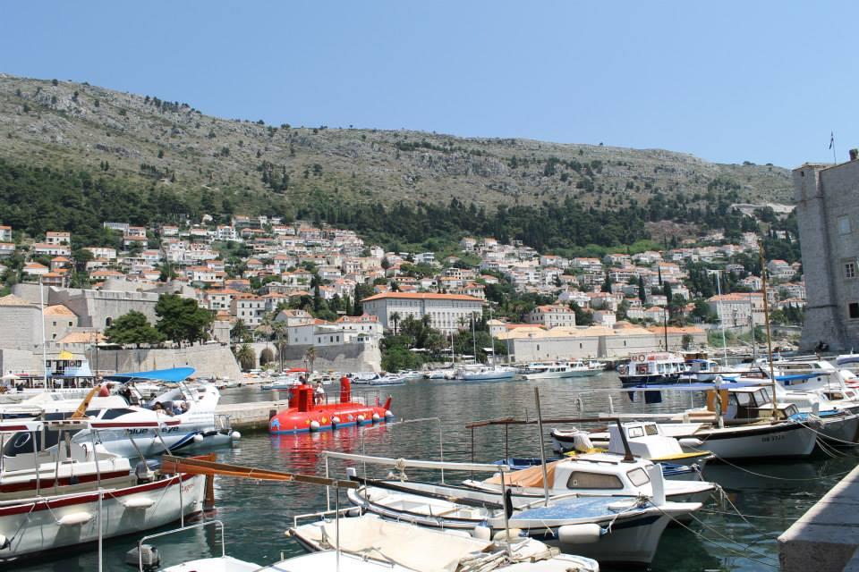 Dubrovnik con niño
