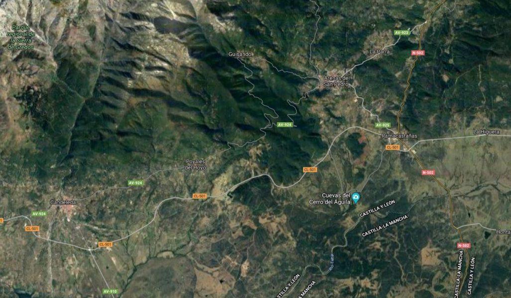 mapa vertiente norte