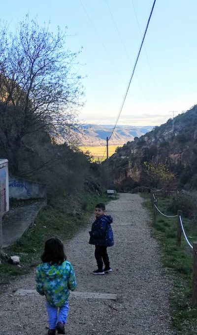Senderismo en familia por Madrid