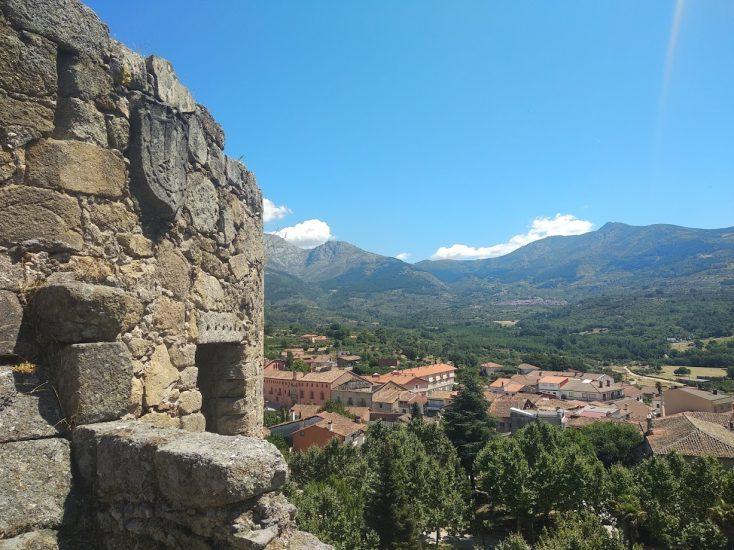 Vista de Mombeltrán desde Castillo
