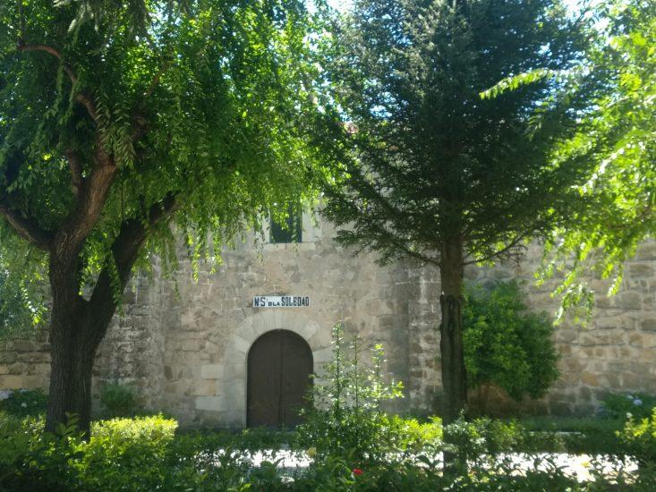 Exterior de la ermita