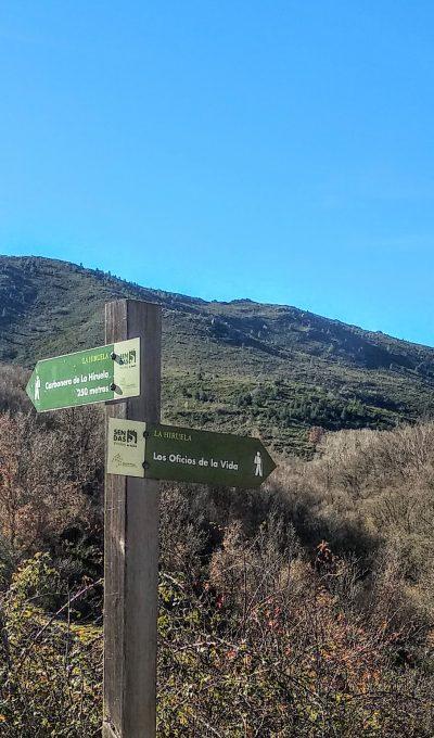 Senderismo en La Hiruela, rutas en familia