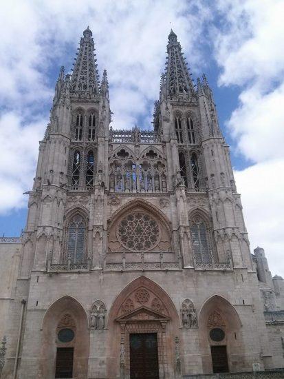 Fachada catedral de Burgos