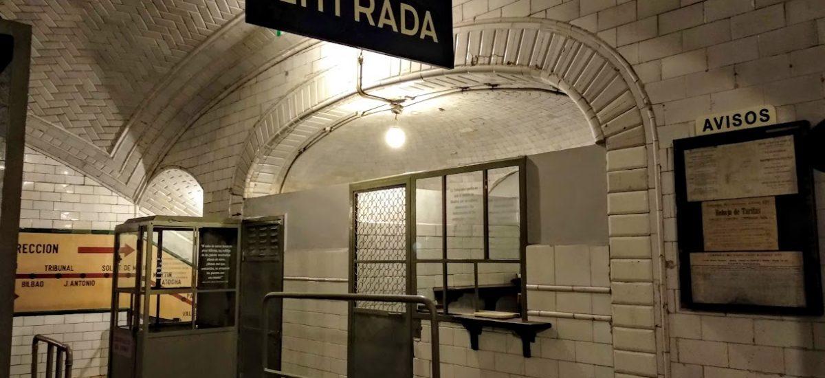 Estación fantasma de Chamberí, un rincón oculto de Madrid