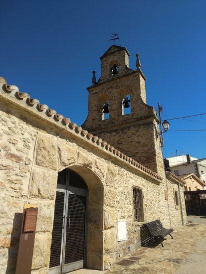 Paredes de Buitrago Iglesia, exterior