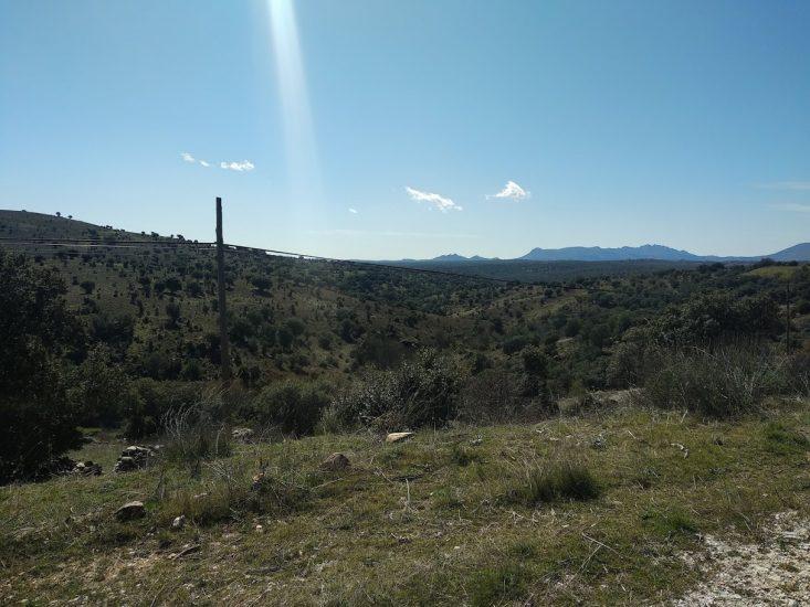 Paredes de Buitrago  Vista desde el camino